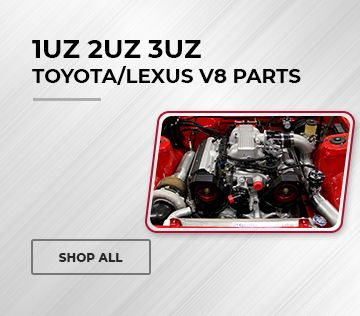 1UZ 2UZ 3UZ Toyota V8 Peformance Parts & Swap Kits: S13, S14, & More