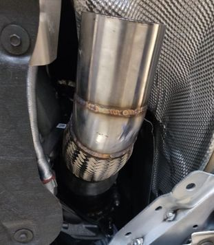 """2020 GR Supra A90 MKV Downpipe 4.5"""" Stainless Catless ProSeries +20HP/TORQUE FREE SHIPPING"""
