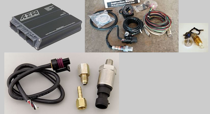 AEM EMS Series 2Toyota Supra 1993-1998 Kit w/ EMS, Map Sensor, IAT, Fail Safe Gauge, MAC Boost Control Solenoid!