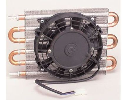 Flex a Lite Automatic Transmission Oil Cooler with Fan Toyota Supra