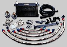 GReddy Oil Cooler with Remote Filter Kit Toyota Supra 1993-98
