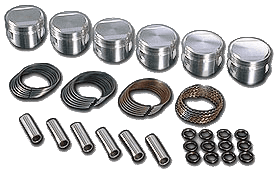 JE Forged Piston Kits (w/ rings)