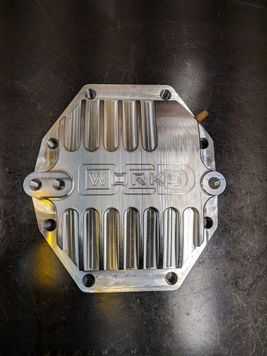 "DISCONTINUED OCD Works 220mm ""Big Diff"" 93-98 Supra 6 speed Billet Rear Cover"