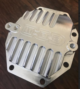 OCD Works Billet MkIV Supra Differential Rear Cover