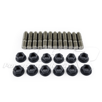 PHR Power House Racing Short Stud and Nut Kit for 1JZGTE 2JZGTE MkIV Supra Turbo Manifolds