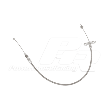 PHR PowerHouse Racing Stainless Throttle Cable for MkIV Toyota Supra and SC300 LHD or RHD