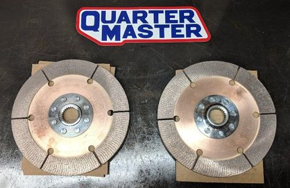 "QM QuarterMaster Clutch 8.5"" Overhaul Rebuild Kit for Twin Rallye"