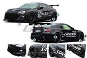 Scion FR-S // Subaru BRZ Aerodynamics + Body Kits