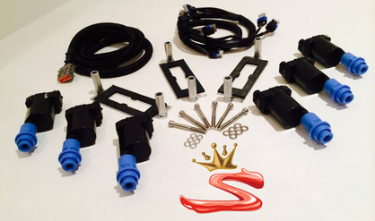 SupraStore King Spark 2JZ Ignition Upgrade GM LQ9 Coil On Plug Kit 2JZ-GE 2JZ-GTE