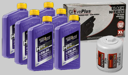 SupraStore Synthetic Royal Purple K&N Oil Service Package 10w40 and Filter