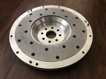SupraStore Toyota Lexus 1JZ 2JZ Lightweight Billet Aluminum 13.5 lb Flywheel for CD009 350Z JK40C 370Z Manual 6 Speed Transmission Swaps