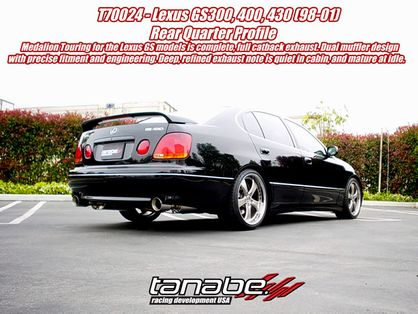 Tanabe Touring Medallion Exhaust 1998-2005 GS300 GS400 GS430