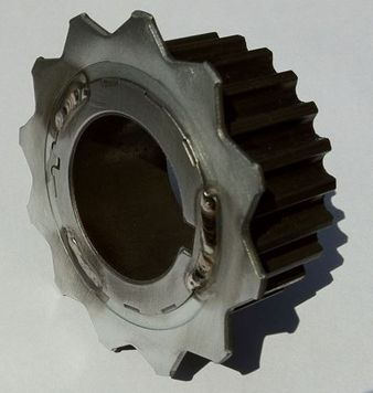 Toyota 1JZ 2JZ Timing Wheel with Welded Trigger Wheel