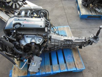 Toyota RS200 Altezza 3S-GE BEAMS Engine + 6 Speed