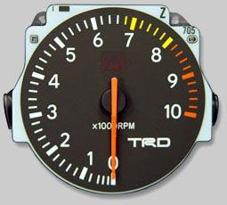 NO LONGER AVAILABLE TRD 10,000 RPM Tach Toyota Supra Turbo 1993-1998 - DISCONTINUED