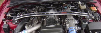 TRD Front Strut Tower Bar 1993 - 1998 Supra Twin Turbo