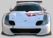TRD JGTC Supra Wide Body - Front End