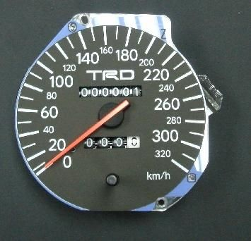 NO LONGER AVAILABLE TRD Toyota Supra Speedometer S2 Right Hand Drive 1997-2002 - DISCONTINUED