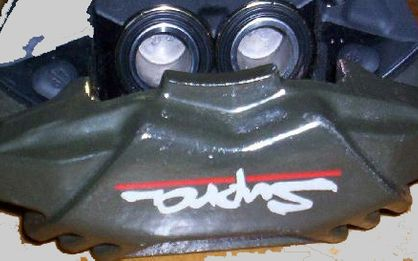 US Spec Twin Turbo Supra 1993-1998 Front Brake Upgrade with Stop Tech Rotors