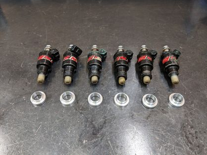 NO LONGER AVAILABLE Used Set of 6 RC750 Injectors