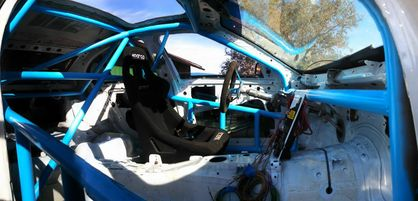 Welded-In Roll Cage Service