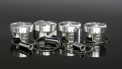 Wiseco Asymmetric Piston Kit 2JZGTE Supra 9.5:1 or 10.5:1 Compression Forged 1000HP