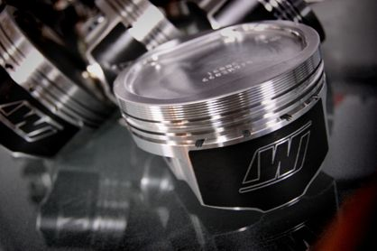 Wiseco Piston Kit 2JZGTE Supra 8.5:1 Compression Forged 1000HP