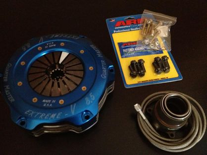 "XAT 8.5"" Twin Plate Clutch Kit UZ or JZ for V160 R154 or Nissan Z33 6 speed CD009 1JZ 2JZ 1UZ 2UZ 3UZ"