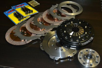 "QuarterMaster XAT 7.25"" Twin or Triple Plate Clutch Kit for 1JZ 2JZ 1UZ 2UZ 3UZ R154 Nissan Z33 6 Speed CD009"