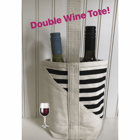 Double Trouble Wine Tote*NEW*