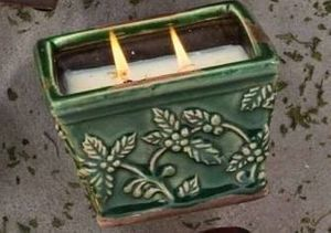 30% off Holiday Pottery Square Pot