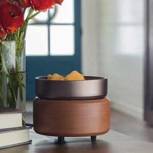 Ceramic Warmer with Dish