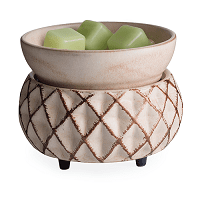 **NEW** Ceramic Warmer & Dish Lattice