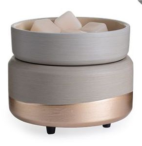 Ceramic Warmer & Dish Midas
