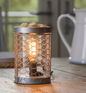 **NEW** Chicken Wire Edison Bulb Illumination Warmer