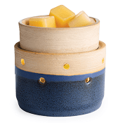 **NEW** Deluxe Ceramic Warmer & Dish Land and Sea