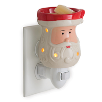 Pluggable Wax Warmer Santa