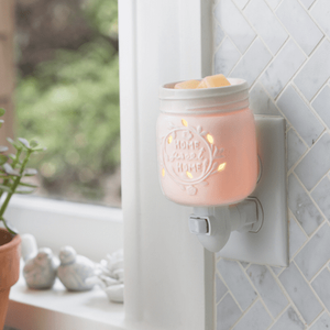 Pluggable Wax Warmer Mason Jar