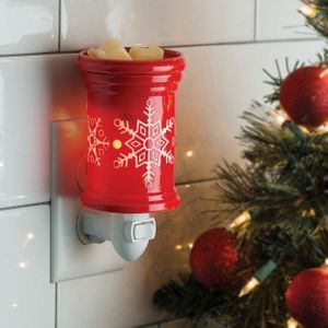 Pluggable Wax Warmer Snowflake