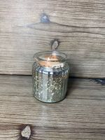 Small Gilded Glass Candle