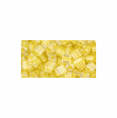 11-192 Yellow Lined Crystal