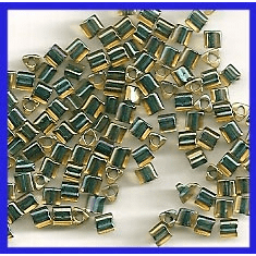 11-243 Emerald Lined Topaz