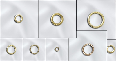 Jump Rings - 14 kt Gold Filled -