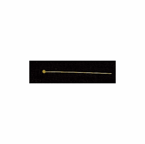 24 Gauge Gold Filled Head pin with Ball