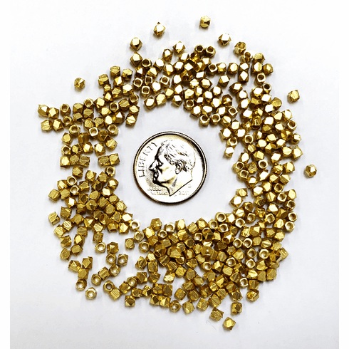 24kt Gold Over Copper Bead Nuggets GCBK399