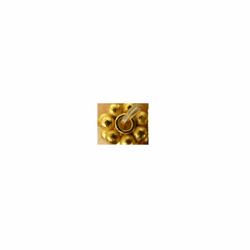 24kt. gold over copper 3mm daisy spacer GCBK452-3