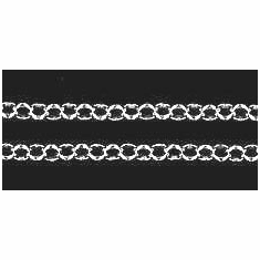3mm Sterling Silver Cable Chain