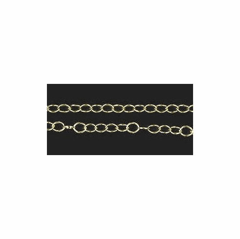 4mm 14kt. Gold Filled Cable Chain
