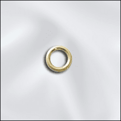 4mm Jump Ring Gold Filled Click and Lock 25 pieces