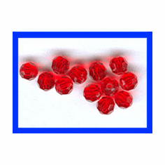 4mm Swarovski Crystal Faceted Round Beads 12 Pack